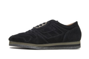 BRITISH MILITARY TRAINER 1800SCR BLACK SUEDE