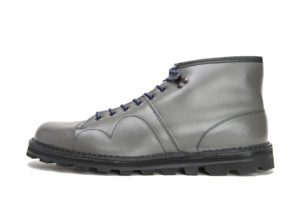 CZECHOSLOVAKIA MILITARY BOOTS 4100L GRAY