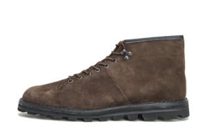 CZECHOSLOVAKIA MILITARY BOOTS 4100S BROWN SUEDE
