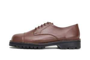 ITALIAN MILITARY OFFICER 114L BROWN