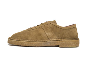 GERMAN MILITARY TRAINER 1771SCR TABACCO SUEDE