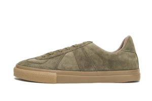 GERMAN MILITARY TRAINER4700SOLIVE SUEDE