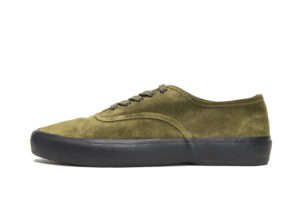 US NAVY MILITARY TRAINER5851SOLIVE SUEDE/BLACK SOLE